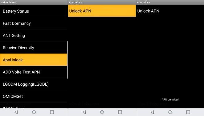Stylo 3 Plus APN Unlock