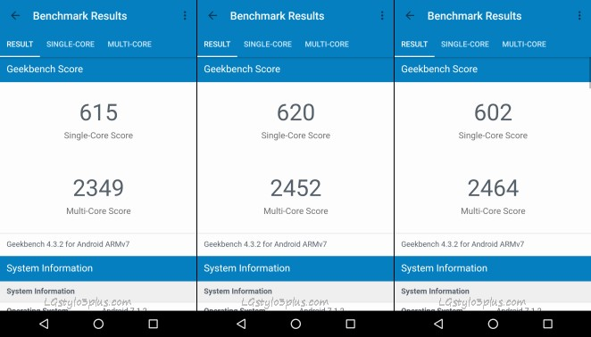 Stylo 3 Plus Geekbench Lineage OS