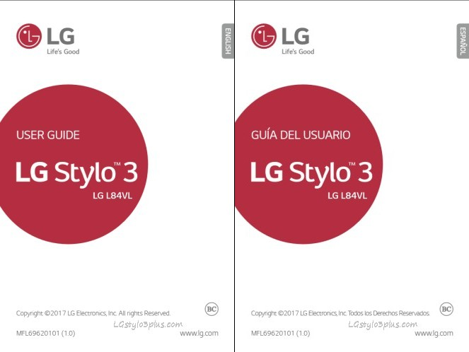 LG Stylo 3 Manual PDF - MetroPCS, Cricket, Boost Mobile, Straight