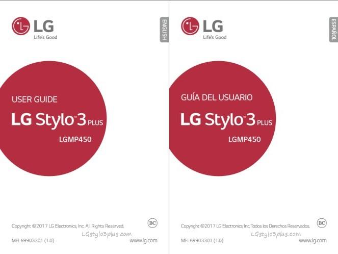 LG Stylo 3 Plus MetroPCS User Manual