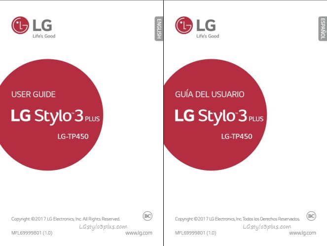LG Stylo 3 Plus T-Mobile User Manual