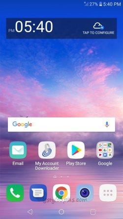 LG Solo Google Lock Removal